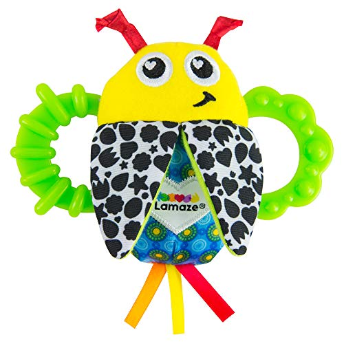 🥇 Lamaze Bitty Bite Bug Rattle
