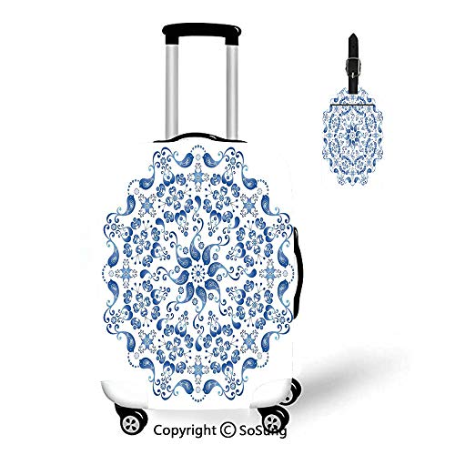 Mandala Travel Suitcase Protective Cover,Fit for 18-22