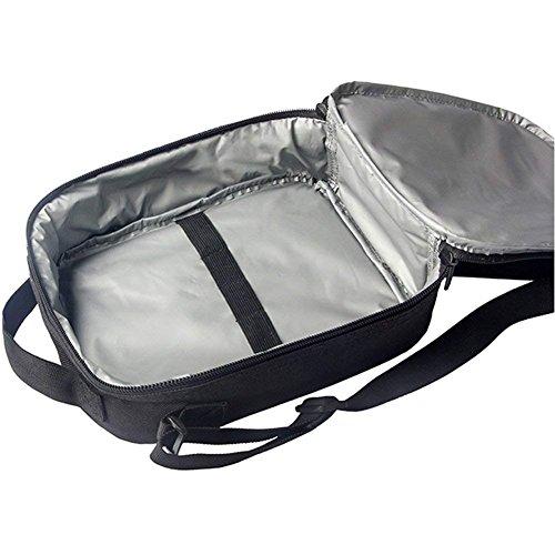 FOR U DESIGNS Whistling Wolf School Shoulder Backpacks Kid's Teen Boys Girls Bookbags Pencilcase Lunchbox 3 Picec/Set by FOR U DESIGNS (Image #5)