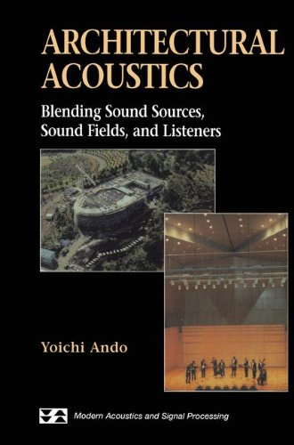 Architectural Acoustics Blending Sound Sources, Sound Fields, and Listeners (Modern Acoustics and Signal Processing) [Ando, Yoichi] (Tapa Blanda)