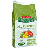 Jobe's Organics 09524 Purpose Granular Fertilizer, 16 lb, Brown
