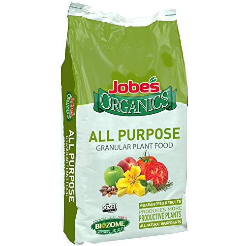 General Purpose Fertilizer - Jobe's Organics 09524 Not Available Granular Fertilizer for All Plants, 16 lb
