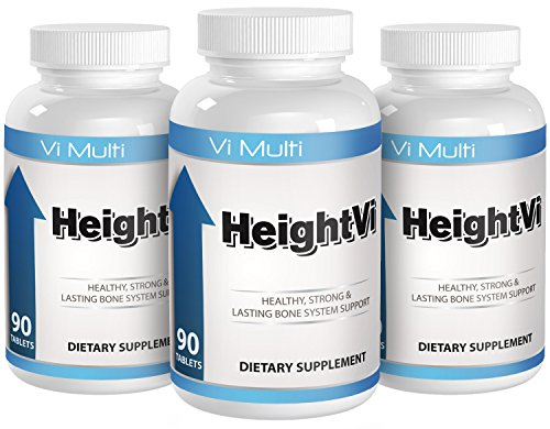 Height Vitamins by Vimulti. Grow Taller with the top Height Vitamins 3 Pack