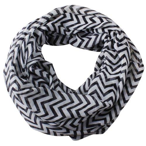 Leegoal Knitting Voile Chevron Infinity