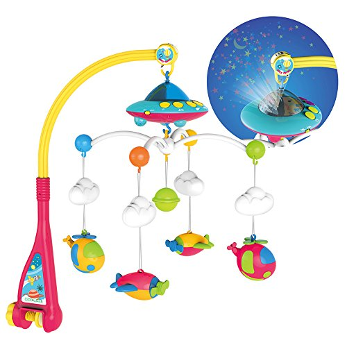 Huanger Hanging Toy Projection Baby Crib Musical Mobile with Lights and Remote - VIP Baby Store