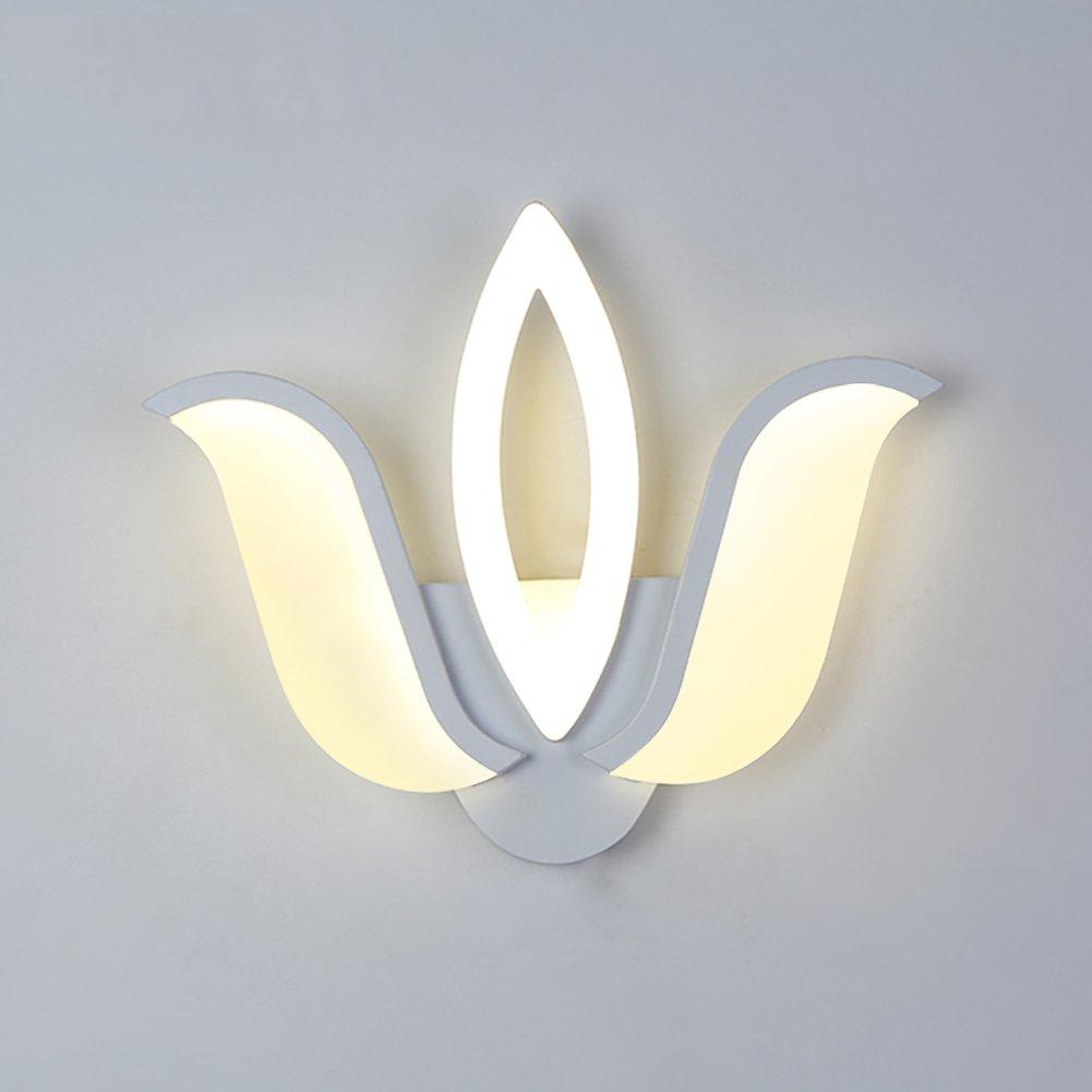 @Wandleuchte LED Wandleuchte, kreative Nachttischlampe Wohnzimmer Lichter Restaurant Lights Aisle Lights Einfache Wandleuchten Wandlampe (Farbe   Three head)