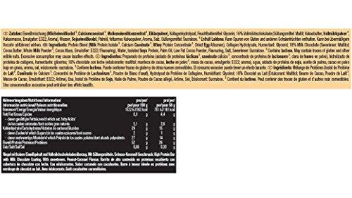 Weider 52% Protein Bar (24x 50g Box), Peanut-Caramel/Erdnuss ...