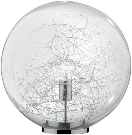 Ideal Lux Mapa Max TL1 D20 Lampada, Alluminio: Amazon.it