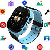 Kids Smart Watch for Boys Girls - Child Sports Watch Phone Digital Wrist Armband with Call SOS Camera Flashlight Alarm Clock for Children Age 3-12