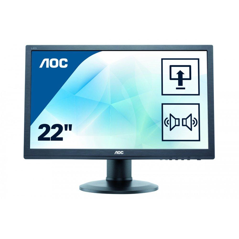 AOC E2260PDA 55,9 cm Monitor schwarz: Amazon.de: Computer & Zubehör