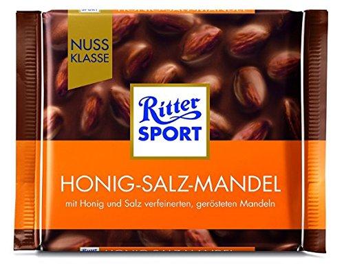 Ritter Sport Honey Salt Almond 5 X 100g