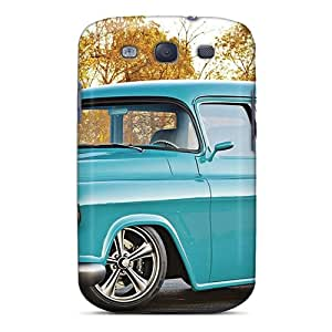 TinaHh Case Cover For Galaxy S3 - Retailer Packaging Sky Blue Protective Case