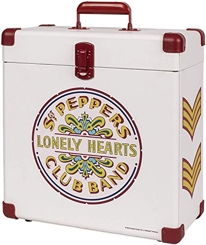 - Crosley CR401-SP Record Carrier Case for 30+ Albums, SGT. Pepper's