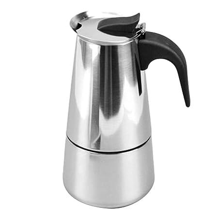 Gesteam Cafetera para Hacer Espresso, 300 Ml / 6 Tazas de Acero ...