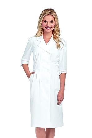 6091bf097bd Amazon.com  Barco Prima Uniforms 58505 Women s Tuck Waist Scrub Dress   Clothing