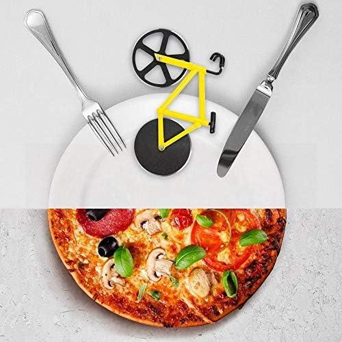 Compra WeiX Bicicleta Cuchillo para Pizza Cuchillo para Pizza de ...