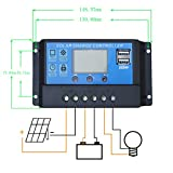 100-Watts-Solar-Panel-20A-LCD-Display-PWM-Charge-Controller-50-Feet-Solar-Cable-Adaptor-Z-Mounting-Brackets-for-Off-Grid-RV-Boat-Kit