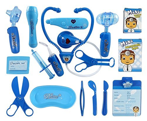 liberty-imports-deluxe-blue-doctor-nurse-medical-kit-playset-for-kids-pretend-play-tools-toy-set-by-