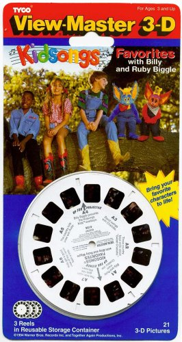 KIDSONGS from TV Show - ViewMaster 3 Reel Set