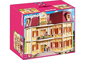 Playmobil large grand mansion toys games for Amazon casa