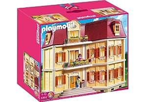 Amazon Com Playmobil Large Grand Mansion Toys Amp Games