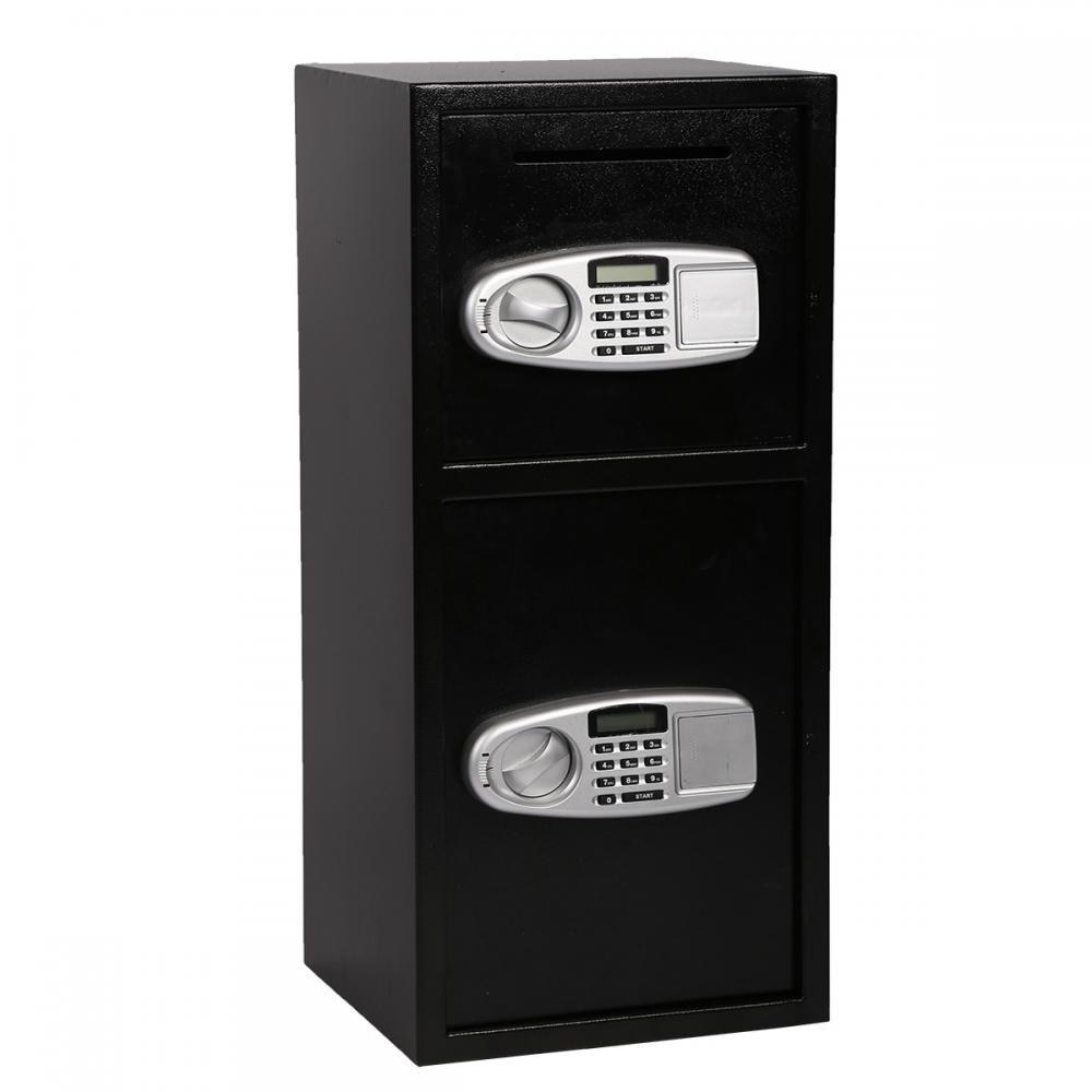 FDW Double Door Cash Office Security Lock Digital Safe Depository Drop Box by FDW (Image #1)