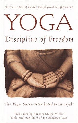 Amazon Fr Yoga Discipline Of Freedom The Yoga Sutra