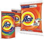 Ace Detergente en Polvo de 1.9 Kg y Detergente Líquido, 700 ml