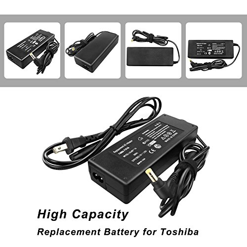 CANRY 75W Charger AC Adapter For Toshiba Satellite C50 C55 L45 L50 L300 L505 L505D L555D L650D L500D A105 A135 A200 A300 A305 A505 C645 M35X M55 M60 M65 Series Toshiba Satellite L505-S6959 A105-S101 (A215 Series Laptop)