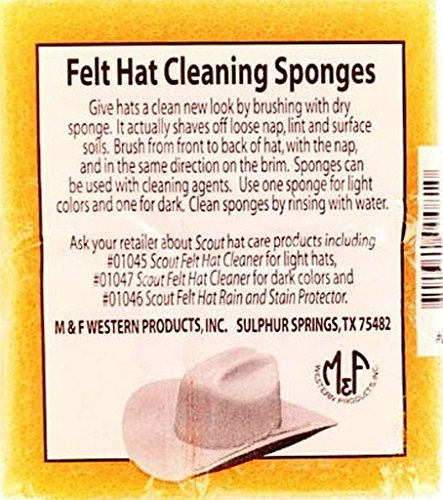 - Freeshipping Mens MF Felt Hat Cleaning Sponge