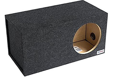 Atrend 12LSV 12-Inch Single Vented Subwoofer Enclosure (Type R 12 Sub Box)