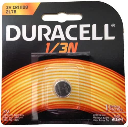 10 Pcs Duracell 2L76 CR1-3N DL1/3N 1/3N K58L 3V Lithium Battery