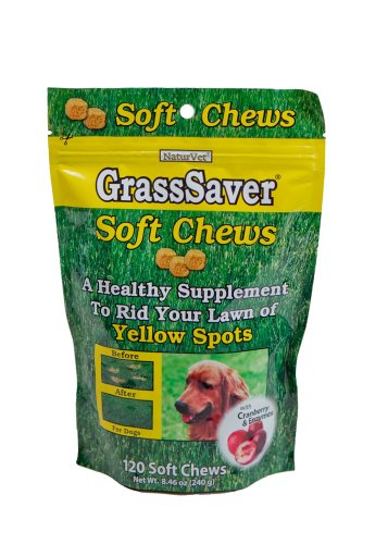NaturVet GrassSaver Soft Chews with Cranberry, 120-Pack, My Pet Supplies