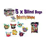 "Furby Boom 2"" Mini Furbling Bundle of 5 Mystery Packs Assortment Varies"