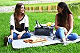 Picnic Basket for 2 Beautiful Insulated Tote Bag