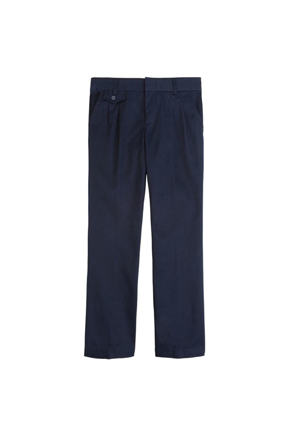 French Toast Adjustable Waist Pleated Pant Girls French Toast School Uniforms 1522U NAVY 12.5