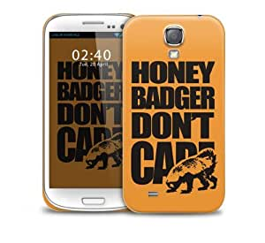 Honey Badger Dont Care Samsung Galaxy S4 GS4 protective phone case by supermalls