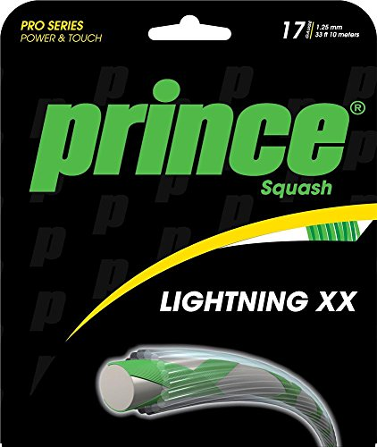 Prince Squash String Lightning XX 17 green