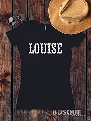 Louise Style T-Shirt Distressed Thelma and Louise movie inspired Shirt Distressed Country Southern Style Tee - Ink Printed