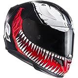 HJC Motorradhelm RPHA 11 Venom MC1, Schwarz/Rot, Größe S