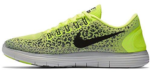 Nike Mens Rn Distance Volt / Noir-gris-loup Gris 12.5