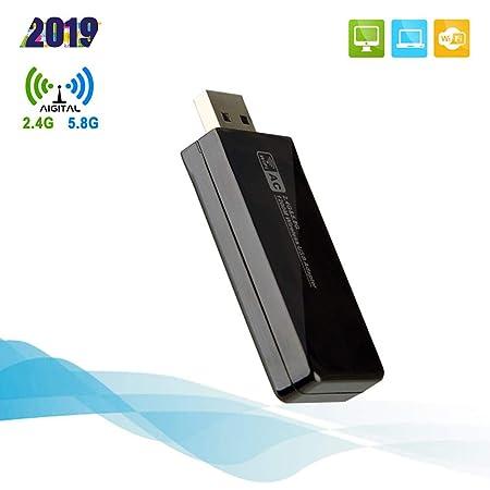 Adaptador WiFi USB AC1200Mbps USB3.0 Antena WiFi Tarjeta de ...