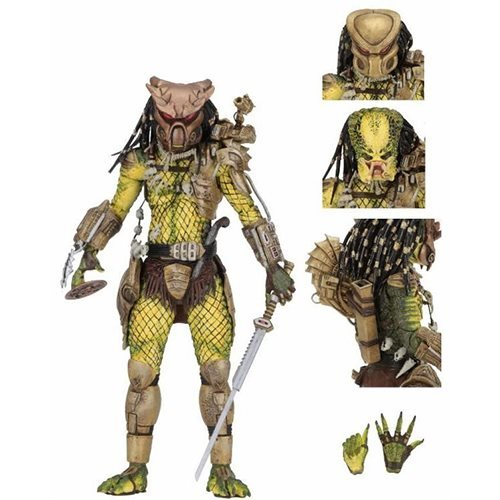 Predator Ultimate Golden Angel 7-Inch Scale Action Figure (Figure Gold Trophy)
