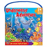 Best MasterPieces Toys For 4 Year Girls - Underwater Adventure 24 Piece Jigsaw Puzzle Review