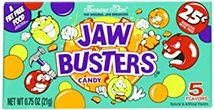 Ferrara Pan Jaw Busters Boxes (Pack of 24)