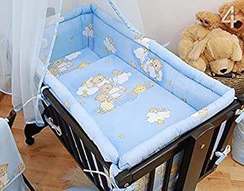 Pattern 18 Crib All Round Padded Thick Bumper 260 cm 90x40 cm Crib Size