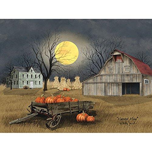 Harvest Moon By Billy Jacobs - 16 x 12 Art Print Poster - Harvest Moon Artwork