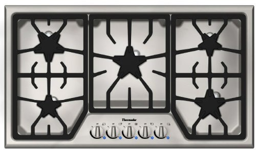 Thermador SGS365FS Cooktop Stainless Indicator product image