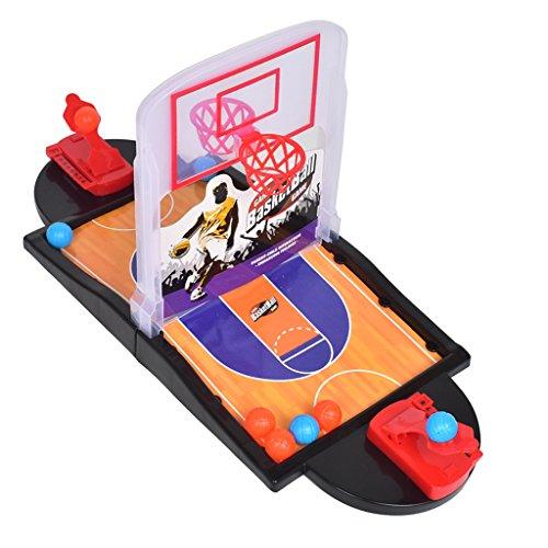 Kesoto 卓上バスケットボールコート ゲームおもちゃ 指シューティングおもちゃ