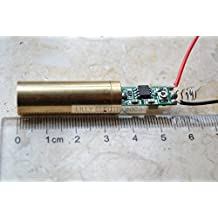 Diode Lasers 3.0-3.7V 532nm 20mW Green Laser Cross Module w/ Cable & Brass Housing